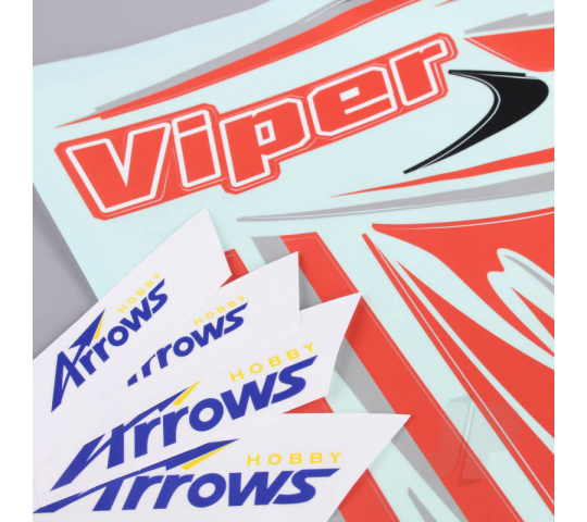 Decalques (pour Viper) - Arrows Hobby - ARRAL109