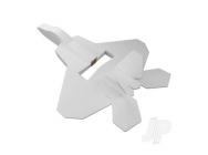 Mini F-22 Raptor Speed Build Kit with Maker Foam (508mm) - Flite Test - FLT1139