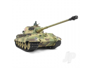 1:16 German King Tiger Henschel with InfraRouge Battle System (2.4GHz + Shooter + Smoke + Sound) - Henglong - HLG3888A-1B
