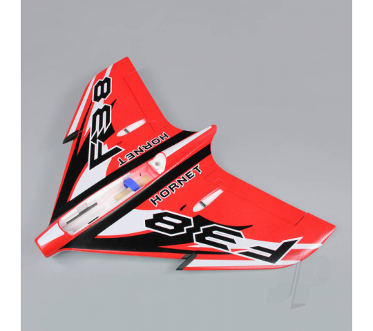 Wing without Canopy Rouge (Painted with Decal) (F-38) - JP - JPDF12018