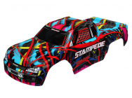 Carrosserie Stampede Hawaiian Graphics Peinte Et Decoree - Traxxas - 3649