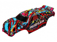 Carrosserie Rustler Hawaiian Graphics Peinte Et Decoree - Traxxas - 3749