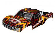 Carrosserie Slash 4X4  Peinte Et Decoree Orange - Traxxas - 6816