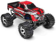 Stampede 4X4 - Rouge - 1/10 Brushed Tq 2.4Ghz - Id - Traxxas - 67054-1-RED