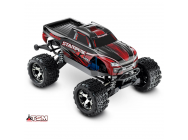 Stampede 4X4 - Rouge - Vxl - 1/10 -Id - Tsm- Sans Accus/Charge - Traxxas - 67086-4-RED