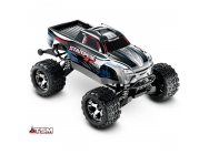 Stampede 4X4 - Gris - Vxl - 1/10 -Id - Tsm- Sans Accus/Charge - Traxxas - 67086-4-SLV