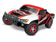 Slash - 4X4 - Rouge - 1/10 Brushless - Tsm - Id- Sans Accus/Charge - Traxxas - 68086-4-RED