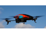 AR.Drone 2.0 Orange-Bleu - PAR-PF720000AHv2-B