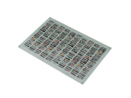 Matrixline Muliple Logo Door Panel Drift Decalques Sheet - A013