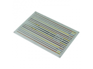 Matrixline Muliple Logo Body Side Panel Stripe Decalques Sheet - A014