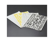 Matrixline Drift Logo Decalques Sheet - Silver - PC-A003S