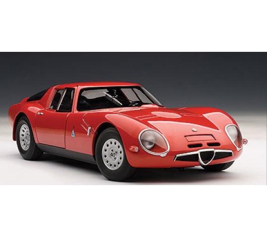 Alfa Romeo TZ2 1965 AutoArt 1/18 - T2M-A70198