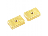Centro Precision Brass 5G Balancing Weights (Pr) - C0510