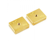 Centro Precision Brass 10G Balancing Weights (Pr) - C0511