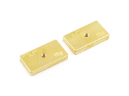 Centro Precision Brass 15G Balancing Weights (Pr) - C0512
