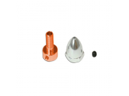 Adaptor and Spinner Set (for 3mm shaft)   - Gaui 500x - GAU-GAU222501
