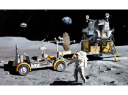 Diorama Lunaire Apollo 17 Dragon 1/72 - T2M-D11015