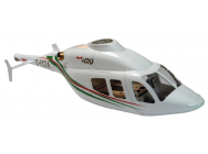 Fuselage Bell 429 format 500 (Blanc - vert - rouge) A2PRO - A2P-808553