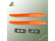 Helice Gemfan Slow Fly orange 5 x 3 (2 pcs) A2PRO - A2P-GO5050030