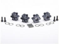 ANZA1654 WHEEL HEXES (TRAXXAS SLASH) (4) - JP-4402202