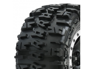 Proline 4.3  Tyres Mounted On Proloc Impulse Blk Wheel Xmaxx - PL10151-13