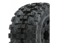 Proline Badlands Mx38 Hp 3.8  Tyre+Raid Noir 8X32 Hex 17Mm - PL10166-10