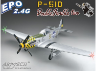 P51 Mustang classe 500 (avec train rentrant) - ART-21538