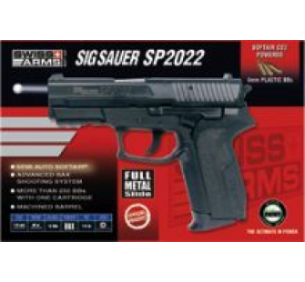 Sig Sauer SP2022 Metal Co2 - AIS-280301