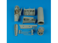 F-8E/H Crusader detail set for Trumpeter - 1:32e - Aires - 2110