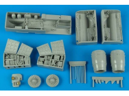 SU-25K Frogfoot A detail set for TRU - 1:32e - Aires - 2170