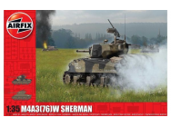 M4A3(76)W  Battle of the Bulge  - 1:35e - Airfix - A1365