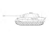 King Tiger - 1:35e - Airfix - A1369