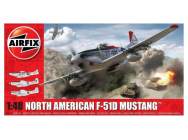 North American F51D Mustang - 1:48e - Airfix - A05136