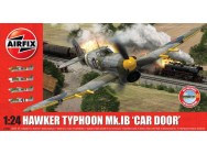 Hawker Typhoon 1B-Car Door (plus extra Luftwaffe scheme)- 1:24e - Airfix - A19003A