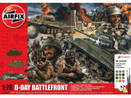 D-Day 75th Anniversary Battlefront Gift Set- 1:76e - Airfix - A50009A