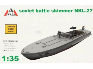 NKL-27 armed speed boat WWII - 1:35e - AMG - AMG35402