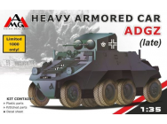 Heavy Armored Car ADGZ (late) - 1:35e - AMG - AMG35502