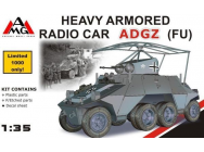 Heavy Armored Radio Car ADGZ (FU) - 1:35e - AMG - AMG35504
