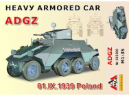 Heavy Armored Car ADGZ(01.IX.1939 Poland - 1:35e - AMG - AMG35508