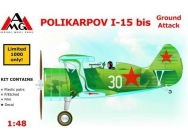 Polikarpov I-15 bis ground attack aircra - 1:48e - AMG - AMG48303