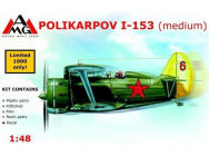 Polikarpov I-153 Chaika (medium) - 1:48e - AMG - AMG48304