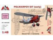 Polikarpov DIT (early) - 1:48e - AMG - AMG48305
