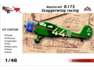 Beechcraft D.17S Staggerwing racing - 1:48e - AMG - AMG48503