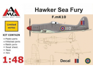 F.mK10 Hawker Sea Fury - 1:48e - AMG - AMG48601