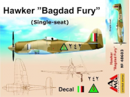 Hawker  Bagdad Fury  (Single seat) - 1:48e - AMG - AMG48603