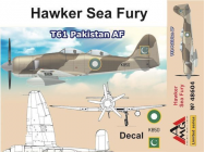 Hawker Sea Fury T61 Pakistan AF - 1:48e - AMG - AMG48604