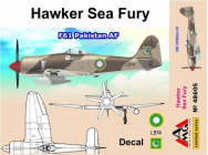 Hawker Sea Fury F61 Pakistan AF - 1:48e - AMG - AMG48605