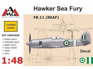 FB.11 (REAF) Hawker Sea Fury - 1:48e - AMG - AMG48607
