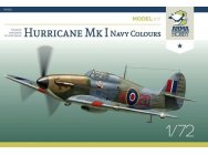 Hurricane Mk I Navy Colours Model Kit - 1:72e - Arma Hobby - 70022