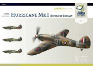 Hurricane Mk I Battle of Britain Limited Edition - 1:72e - Arma Hobby - 70023